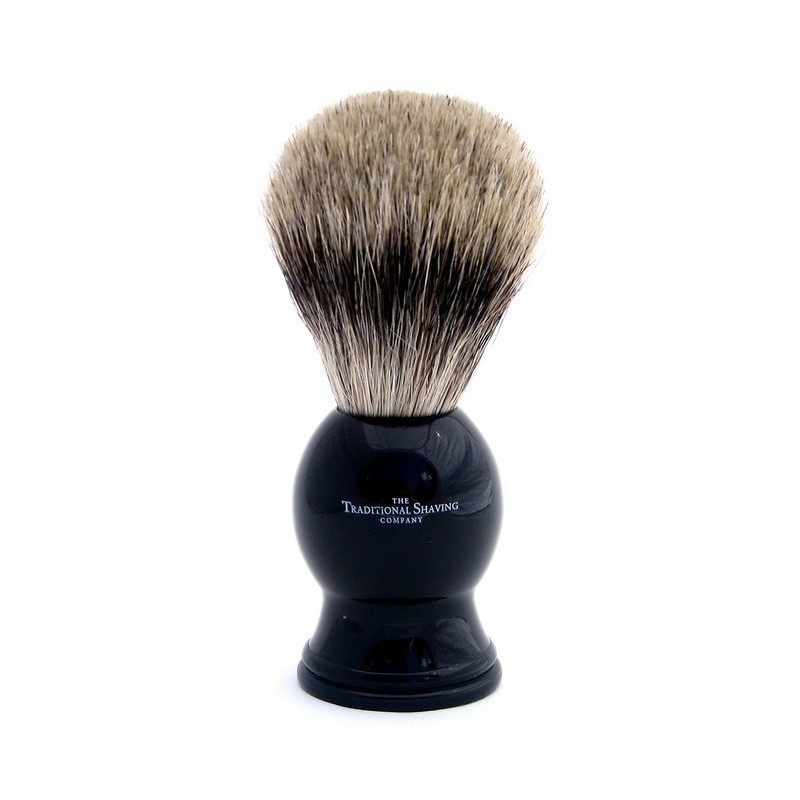 Ebony Pure Badger Shaving Brush 100