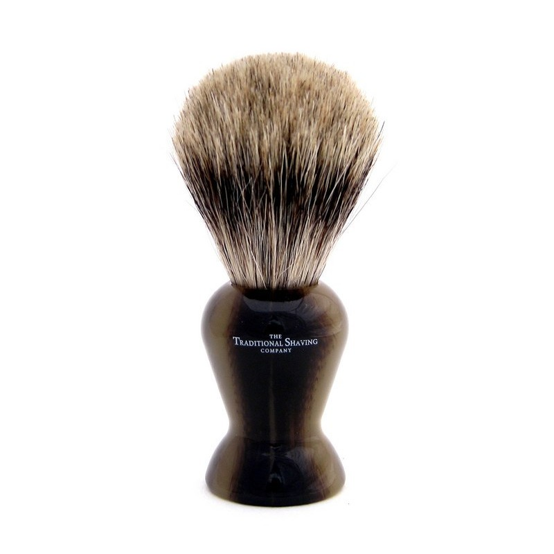 Horn Pure Badger Shaving Brush 200