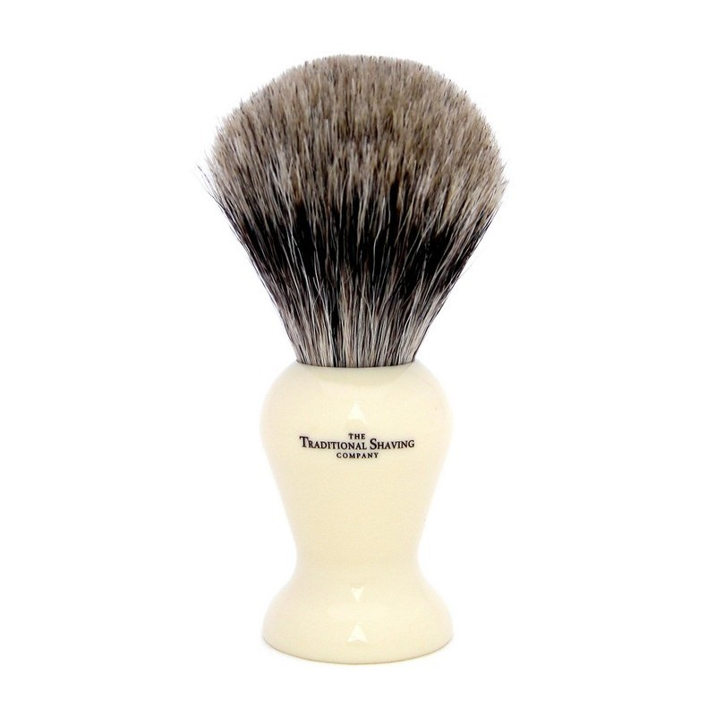 Ivory Pure Badger Shaving Brush 200