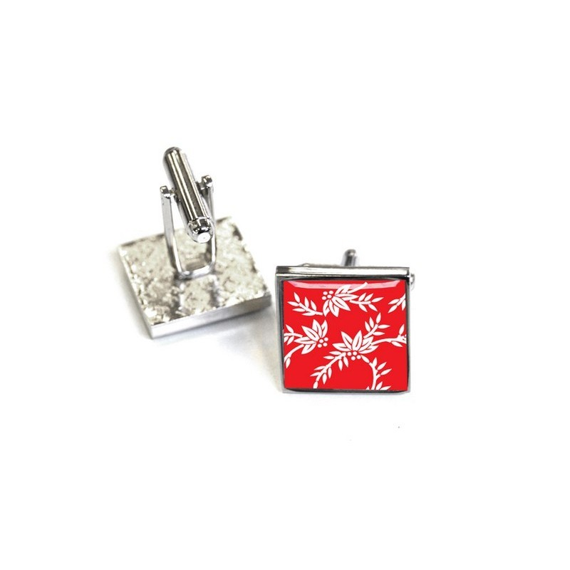 Red Franklin Cufflinks