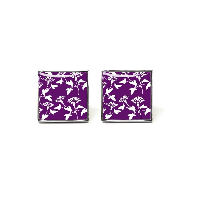 Purple Jasper Cufflinks