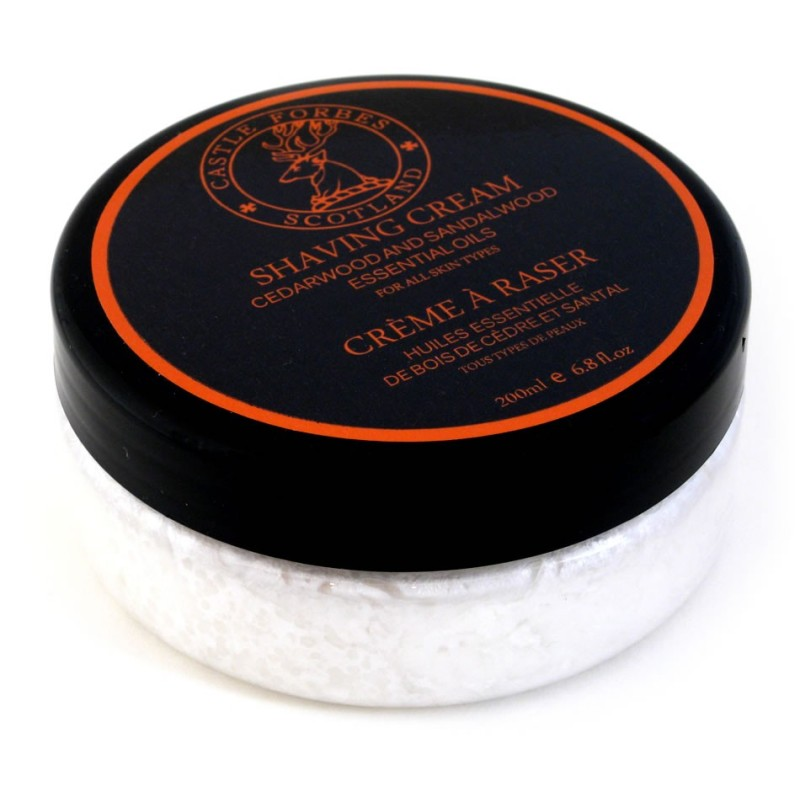 Cedarwood and Sandalwood Shaving Cream 200ml