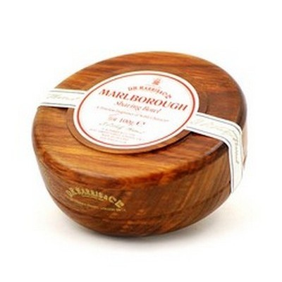 Marlborough Shaving Soap in Mahogany Bowl