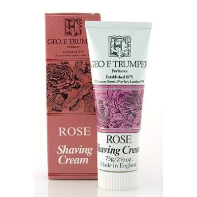 Rose Shaving Cream Tube 75g