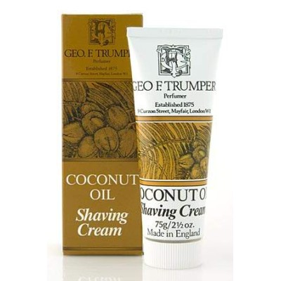 Coconut Oil Shaving Cream Tube 75g