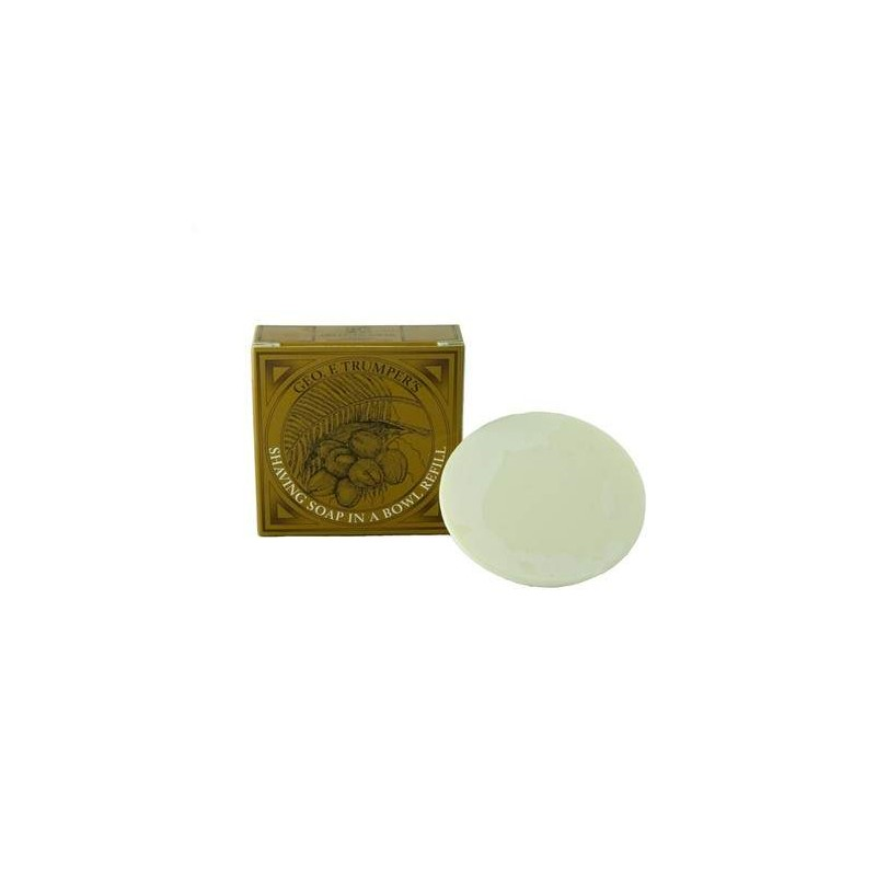 Coconut Shaving Soap Refill 80g