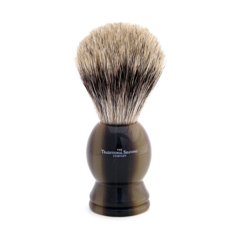 Horn Pure Badger Shaving Brush 100