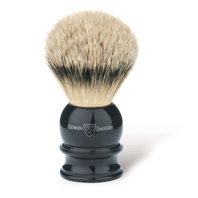 Silver Tip Badger Shaving Brush EJ46 Ebony - Medium