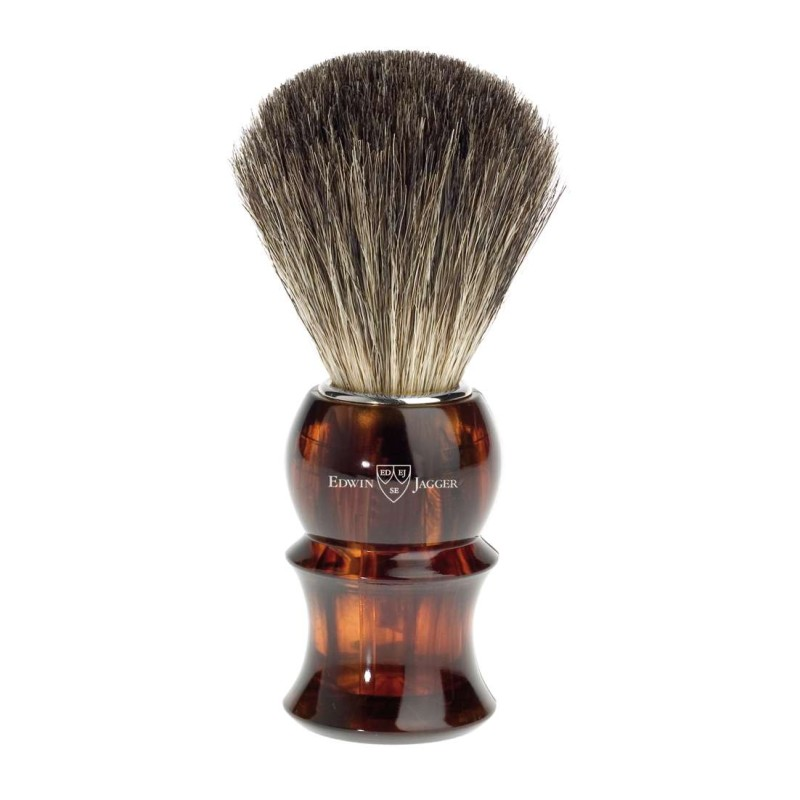 Pure Badger Shaving Brush Tortoise Shell