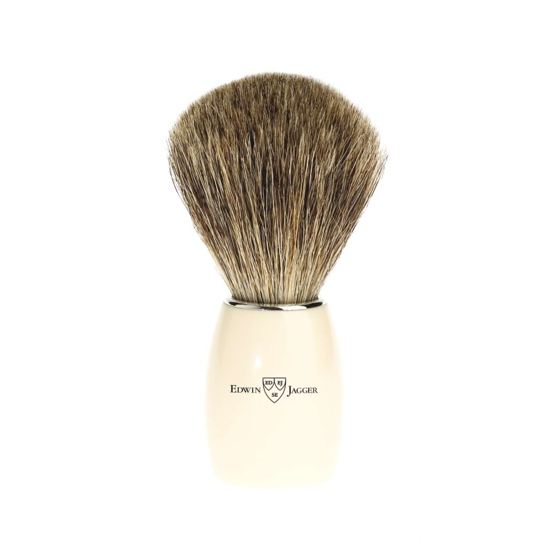 Pure Badger Shaving Brush Ivory