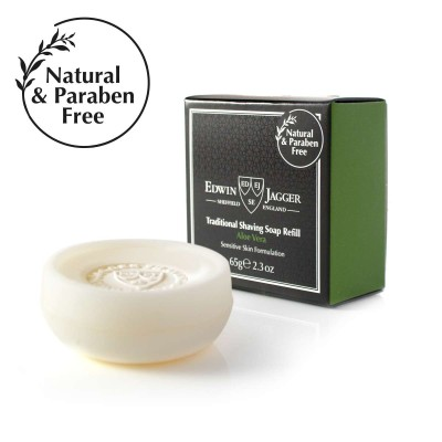 Aloe Vera Traditional Shaving Soap Refill