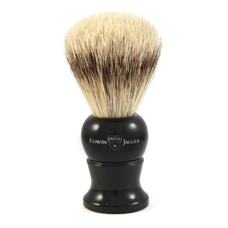 Super Badger Shaving Brush EJ28 Ebony - Large