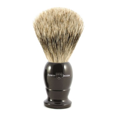 Pure Badger Shaving Brush EJ87 Ebony - Large