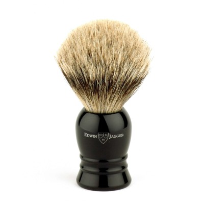 Super Badger Shaving Brush EJ28 Ebony - Extra Large
