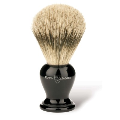Super Badger Shaving Brush EJ36 Ebony - Extra Large