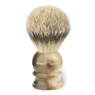 Silver Tip Badger Shaving Brush EJ46 Light Horn - Extra Large