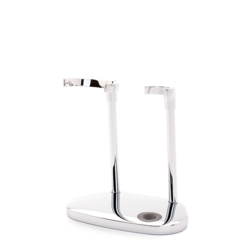 Chrome Stand For Kosmo Razor And Shaving Brush RHM 87