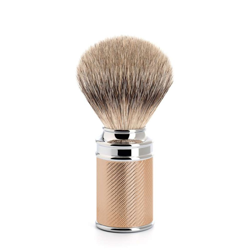 Traditional Rose Gold Silvertip Badger Shaving Brush 091M89RG