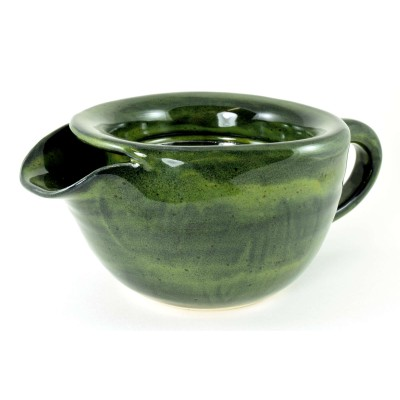 Spinach Green Shaving Scuttle