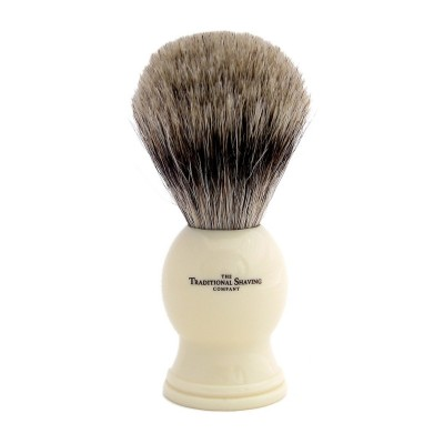 Ivory Pure Badger Shaving Brush 100