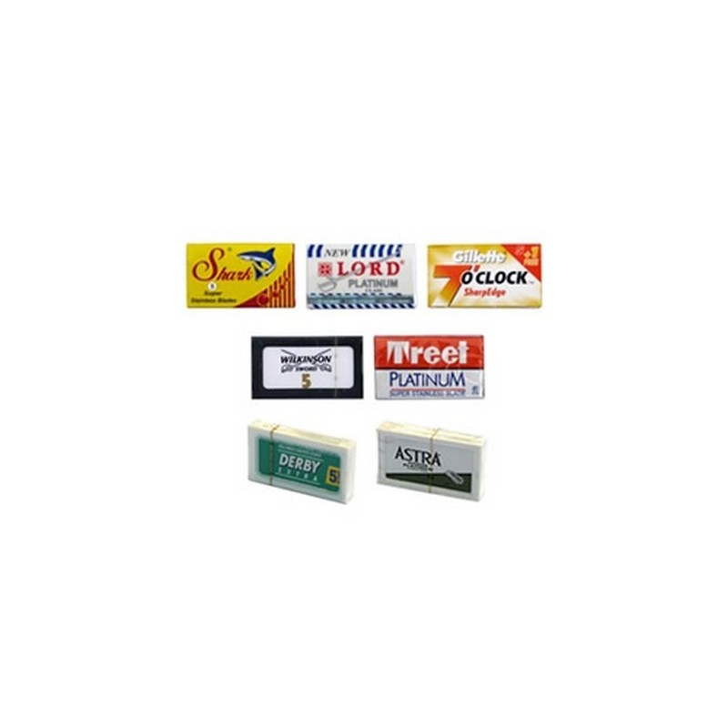Traditional Shaving Razor Blade Sample Pack £8.00