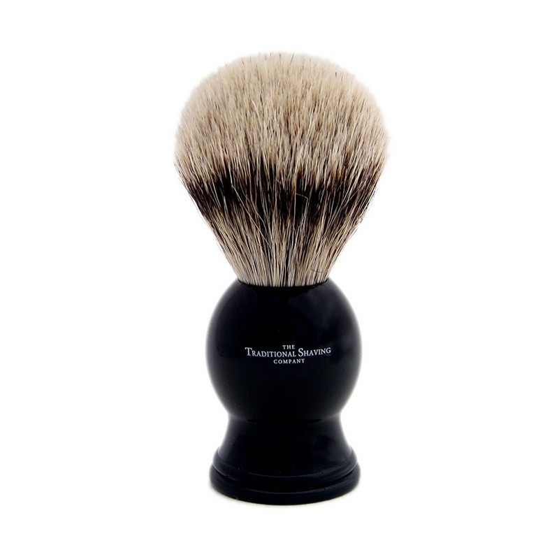 Ebony Silver Tip Badger Shaving Brush 100