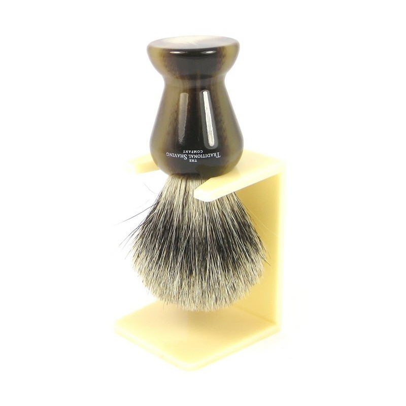 Ivory Shaving Brush Drip Stand